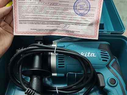 Ударная дрель makita hp 2630 новая (перфоратор)