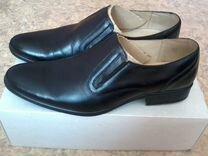 Туфли мужские кожаные новые
