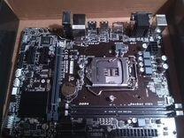 Материнка новая сокет 1151 и проц Pentium Skylake