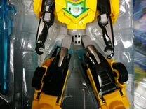 Трансформеры Роботы под прикрытием Бамблби Оптимус