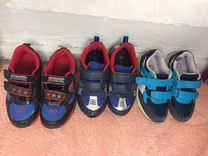 Кроссовки и осенние ботинки