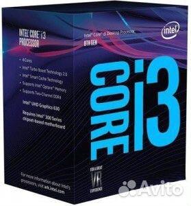 Процессор LGA1151v2 Intel Core i3-9100 BOX  84012411990 купить 1